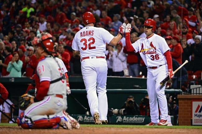 Cardinals vs. Phillies - 5/3/16 MLB Pick, Odds, and Prediction