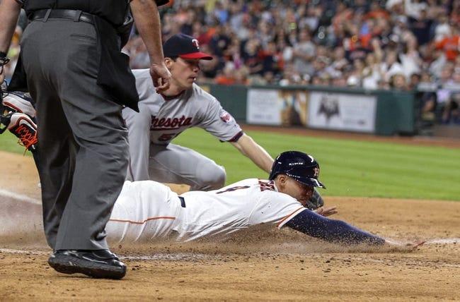 Houston Astros vs. Minnesota Twins - 5/4/16 MLB Pick, Odds, and Prediction