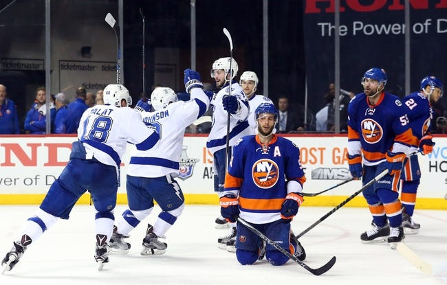 Lightning at Islanders Game 4 - 5/6/16 NHL Pick, Odds, and Prediction