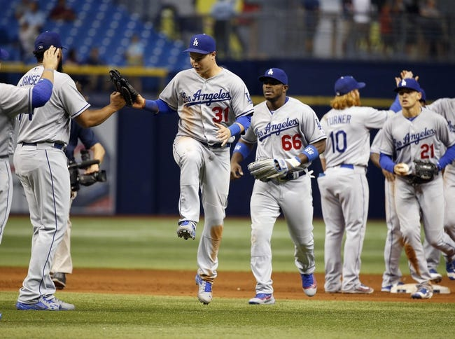 Rays vs. Dodgers - 5/4/16 MLB Pick, Odds, and Prediction