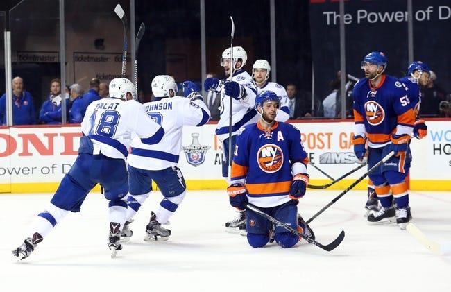 New York Islanders vs. Tampa Bay Lightning - 5/6/16 NHL Pick, Odds, and Prediction