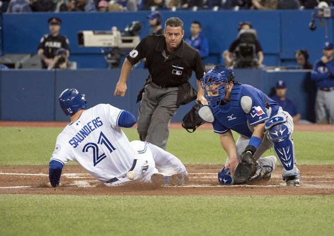 Toronto Blue Jays vs. Texas Rangers - 5/5/16 MLB Pick, Odds, and Prediction