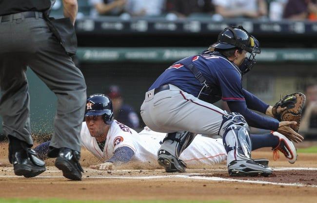 Minnesota Twins vs. Houston Astros - 8/8/16 MLB Pick, Odds, and Prediction