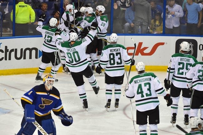 Blues at Stars Game 5 - 5/7/16 NHL Pick, Odds, and Prediction