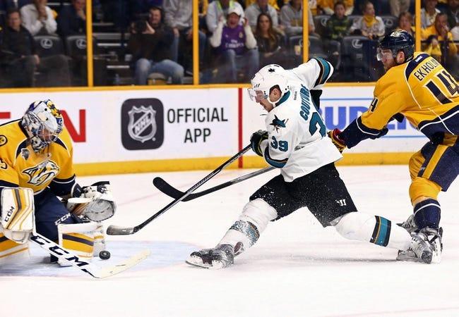Predators at Sharks Game 5 - 5/7/16 NHL Pick, Odds, and Prediction