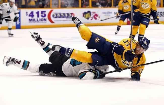 San Jose Sharks vs. Nashville Predators - 5/7/16 NHL Pick, Odds, and Prediction