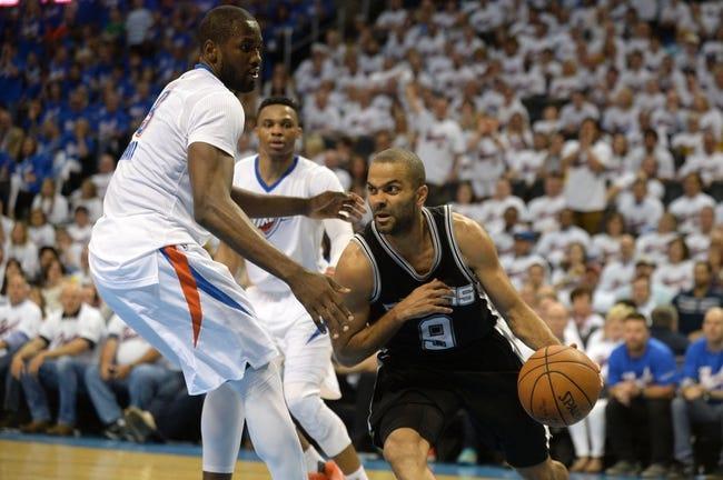 Oklahoma City Thunder vs. San Antonio Spurs - 5/8/16 NBA Pick, Odds, and Prediction
