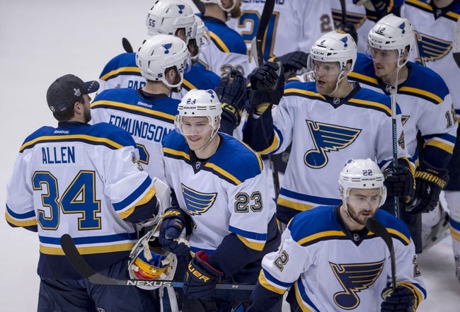 St. Louis Blues vs. Dallas Stars - 5/9/16 NHL Pick, Odds, and Prediction