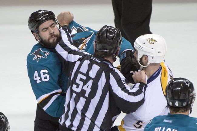 Nashville Predators vs. San Jose Sharks - 5/9/16 NHL Pick, Odds, and Prediction