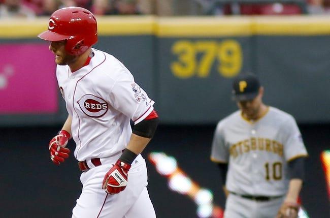 Cincinnati Reds vs. Pittsburgh Pirates - 5/11/16 MLB Pick, Odds, and Prediction
