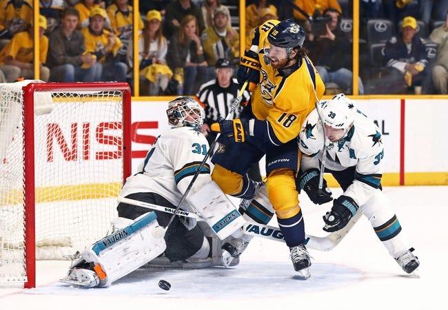 San Jose Sharks vs. Nashville Predators - 5/12/16 NHL Pick, Odds, and Prediction