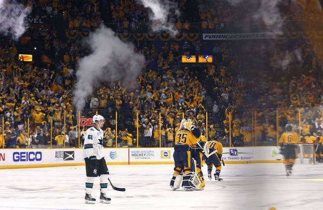 Predators at Sharks Game 7 - 5/12/16 NHL Pick, Odds, and Prediction