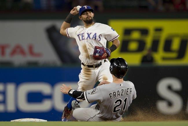 Texas Rangers vs. Chicago White Sox - 5/11/16 MLB Pick, Odds, and Prediction