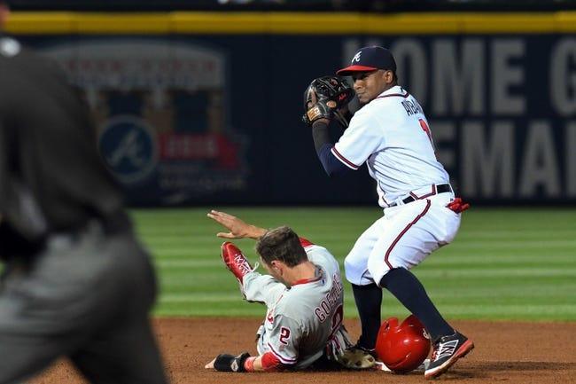 Atlanta Braves vs. Philadelphia Phillies - 5/11/16 MLB Pick, Odds, and Prediction