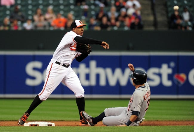 Baltimore Orioles vs. Detroit Tigers - 5/13/16 MLB Pick, Odds, and Prediction