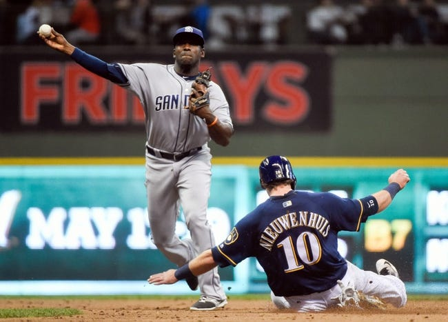 Brewers vs. Padres - 5/13/16 MLB Pick, Odds, and Prediction