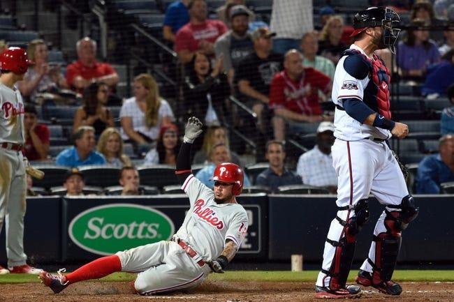 Philadelphia Phillies vs. Atlanta Braves - 5/21/16 MLB Pick, Odds, and Prediction