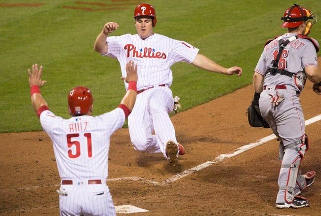 Philadelphia Phillies vs. Cincinnati Reds - 5/14/16 MLB Pick, Odds, and Prediction