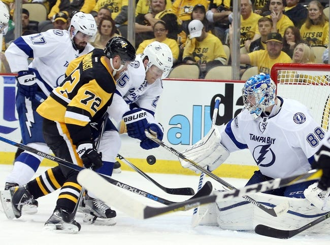 Pittsburgh Penguins vs. Tampa Bay Lightning - 5/16/16 NHL Pick, Odds, and Prediction