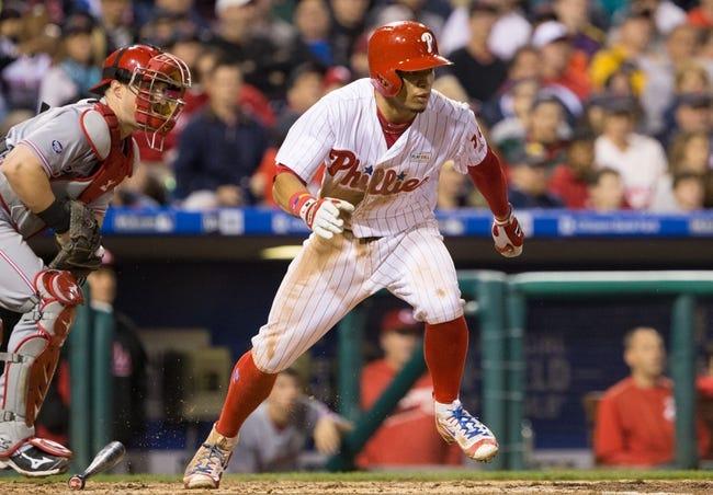 Philadelphia Phillies vs. Cincinnati Reds - 5/15/16 MLB Pick, Odds, and Prediction