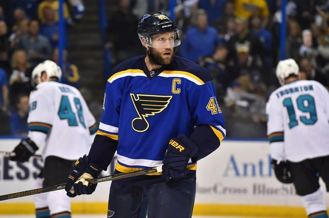 Sharks at Blues Game 2 - 5/17/16 NHL Pick, Odds, and Prediction