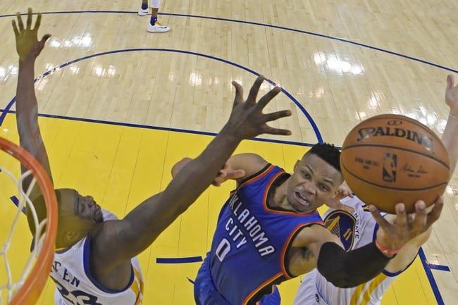 Thunder at Warriors Game 2 - 5/18/16 NBA Pick, Odds, and Prediction