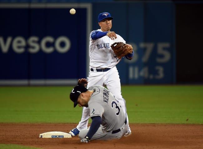 Toronto Blue Jays vs. Tampa Bay Rays - 5/18/16 MLB Pick, Odds, and Prediction