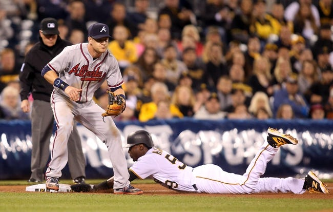 Pittsburgh Pirates vs. Atlanta Braves - 5/18/16 MLB Pick, Odds, and Prediction