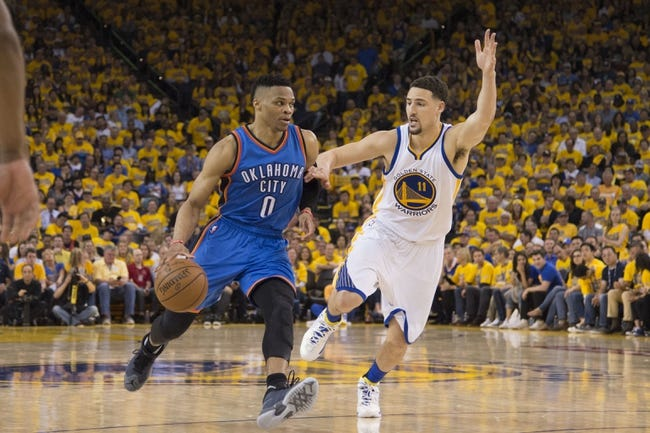 Warriors at Thunder Game 3 - 5/22/16 NBA Pick, Odds, and Prediction