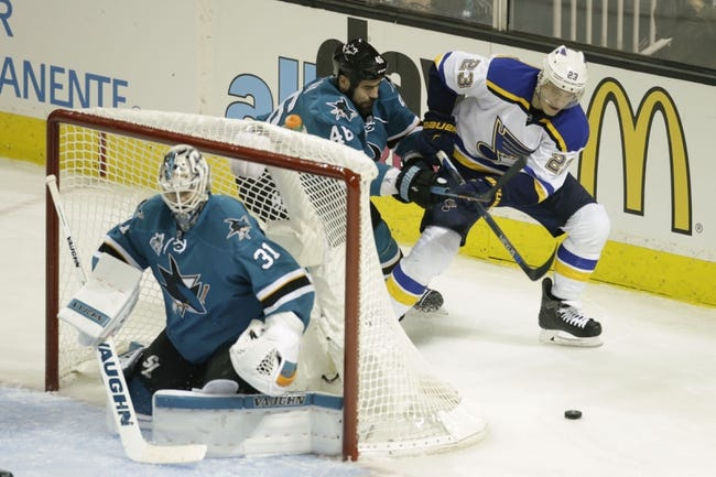 Blues at Sharks Game 4 - 5/21/16 NHL Pick, Odds, and Prediction