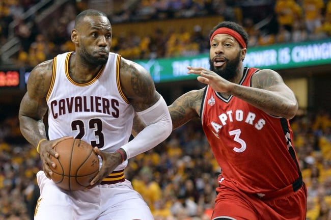 Toronto Raptors vs. Cleveland Cavaliers - 5/21/16 NBA Pick, Odds, and Prediction