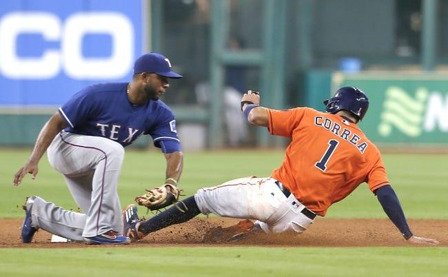 Houston Astros vs. Texas Rangers - 5/22/16 MLB Pick, Odds, and Prediction