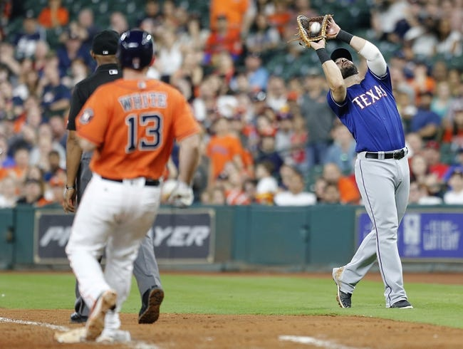 Houston Astros vs. Texas Rangers - 5/21/16 MLB Pick, Odds, and Prediction