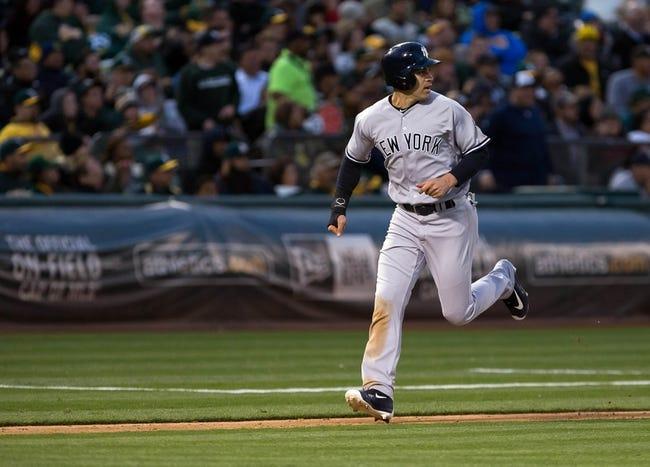 Athletics vs. Yankees - 5/21/16 MLB Pick, Odds, and Prediction