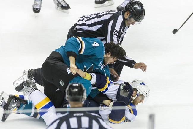Sharks at Blues Game 5 - 5/23/16 NHL Pick, Odds, and Prediction