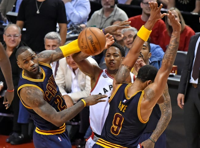Toronto Raptors vs. Cleveland Cavaliers - 5/23/16 NBA Pick, Odds, and Prediction