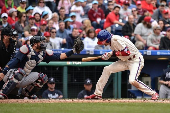 Philadelphia Phillies vs. Atlanta Braves - 7/5/16 MLB Pick, Odds, and Prediction