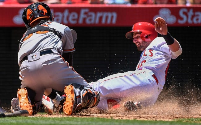 Angels at Orioles - 7/8/16 MLB Pick, Odds, and Prediction