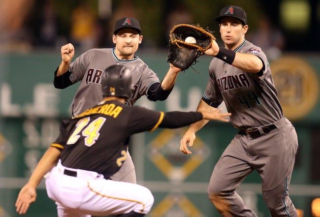 Pittsburgh Pirates vs. Arizona Diamondbacks - 5/26/16 MLB Pick, Odds, and Prediction