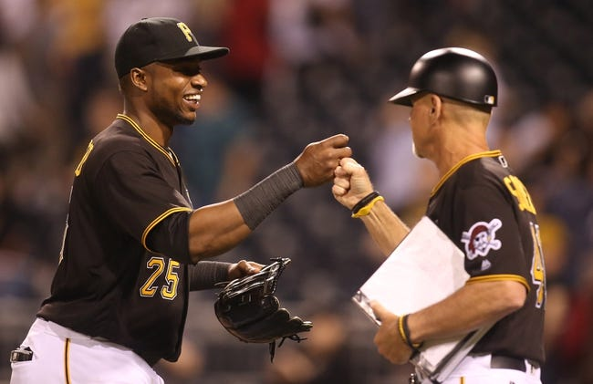 Gregory Polanco ends Zack Greinke's no-hit bid in eighth inning