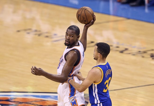 Thunder at Warriors Game 5 - 5/26/16 NBA Pick, Odds, and Prediction
