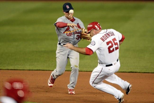 Nationals vs. Cardinals - 5/27/16 MLB Pick, Odds, and Prediction