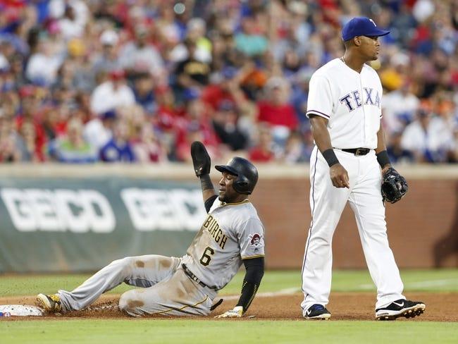 Texas Rangers vs. Pittsburgh Pirates - 5/28/16 MLB Pick, Odds, and Prediction