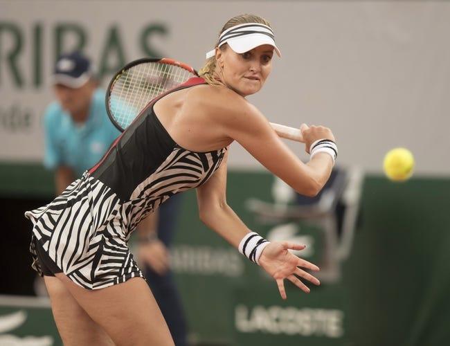 Tennis   Mertens vs. Mladenovic