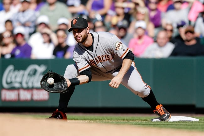Colorado Rockies vs. San Francisco Giants - 5/29/16 MLB Pick, Odds, and Prediction
