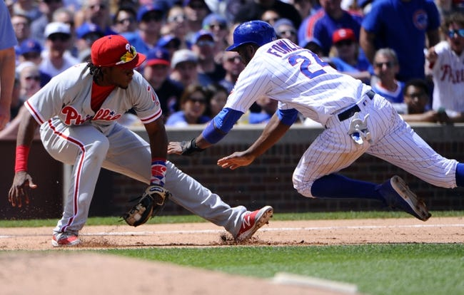 Cubs at Phillies - 6/6/16 MLB Pick, Odds, and Prediction