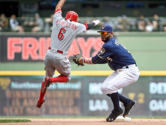 Cincinnati Reds vs. Milwaukee Brewers - 7/15/16 MLB Pick, Odds, and Prediction
