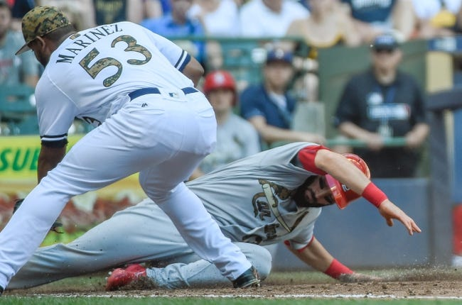 Milwaukee Brewers vs. St. Louis Cardinals - 5/31/16 MLB Pick, Odds, and Prediction