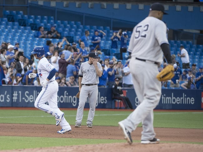 Toronto Blue Jays vs. New York Yankees - 6/1/16 MLB Pick, Odds, and Prediction