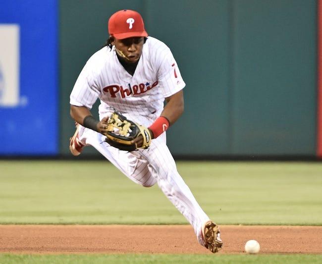 Philadelphia Phillies vs. Washington Nationals - 6/1/16 MLB Pick, Odds, and Prediction